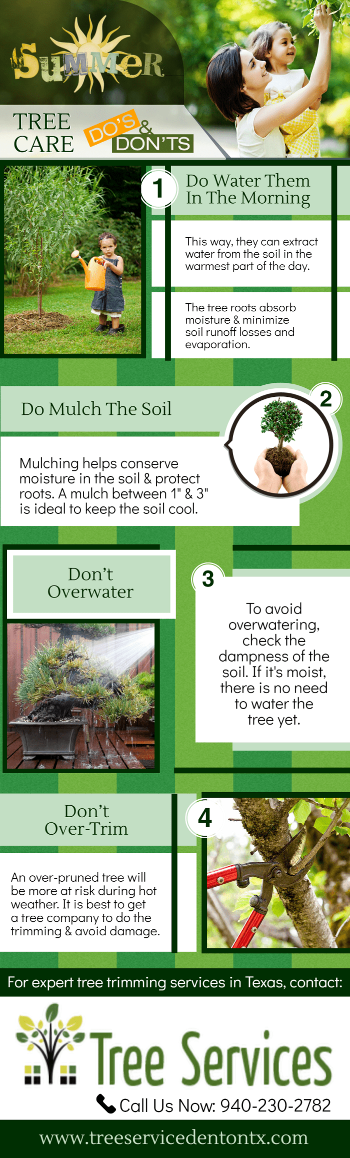 Summer - Tree Care Do's and Don'ts